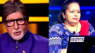 KBC 12 October 8, 2020 Episode: Seema Kumari Wins Rs 6,40,000; Mrinalika Dubey Takes Hot Seat