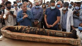 Watch: Ancient Egyptian Mummy Coffin Opened For The First Time in 2,500 Years, Internet Freaks Out