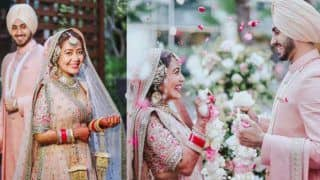 Neha Kakkar-Rohanpreet Singh's Official Wedding Pictures Are Out, Sabyasachi Couple Will Remind You of Virushka- Check Pictures