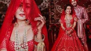 Neha Kakkar's Wedding Official Pictures Out: Rohanpreet Singh Poses With His Badass Bride Like Royalty