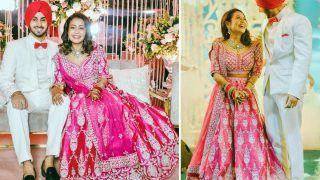 Neha Kakkar's Anita Dongre Lehenga From Sangeet Costs Rs 3,22,000 - How Stunning She Looks in Pink!