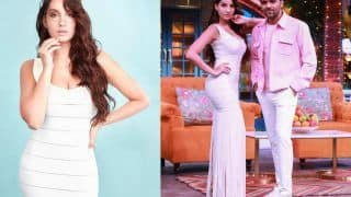 Nora Fatehi Joins Guru Randhawa on The Kapil Sharma Show For 'Nach Meri Rani', Looks All Pretty in White