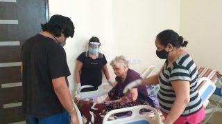 104 साल की अम्मा ने दी कोरोना को मात, हौसला देख लोग रह गए हैरान