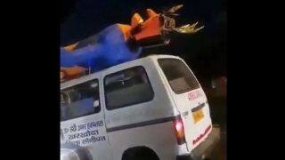 Video of Ravana Riding On An Ambulance Before Dussehra Goes Viral, Leaves Netizens Amazed