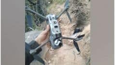 जम्मू कश्मीर: भारतीय सेना ने चीन में बने पाकिस्तान आर्मी के क्वाडकॉप्टर को मार गिराया