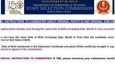 SSC SR JE Admit Card 2020 Released: एसएससी ने जारी किया एडमिट कार्ड, इस Direct Link से करें डाउनलोड