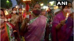 हाथरस गैंगरेप: देश में कई जगहों पर प्रदर्शन, आरोपियों को सजा-ए-मौत की मांग, कांग्रेस भी सड़कों पर