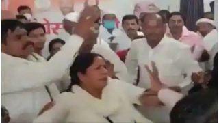 कांग्रेस की बैठक में महिला नेता से हाथापाई, पार्टी जिलाध्यक्ष समेत चार पर मुकदमा; दो नेता निष्कासित