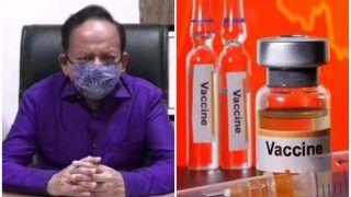 Corona Vaccine को लेकर स्वास्थ्य मंत्री डॉ. हर्षवर्धन का बड़ा अपडेट, जानें देश में कब उपलब्ध होगा टीका