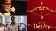 अमिताभ बच्चन से अजय देवगन तक, बॉलीवुड हस्तियों ने ऐसे दी दशहरा की बधाई