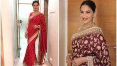 Durga Puja 2020 Saree: माधुरी दीक्षित के इन लुक्स से लें दुर्गा पूजा पर साड़ी पहनने का आइडिया