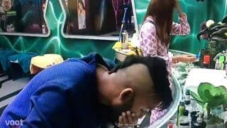 Bigg Boss 14 Update: Jaan Kumar Sanu Chops of His Hair to Gain Entry Inside The House | See Pics