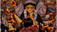 Durga Pooja 2020 In Kolkata: कोलकाता में दुर्गा पूजा का महाउत्सव शुरू, पर खाली पड़े पांडाल, लोग ऑनलाइन देख रहे पूजा...