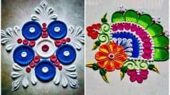 Dussehra 2020 Rangoli Designs: दशहरा के मौके पर घर के आंगन में बनाएं रंगोली के ये खूबसूरत डिजाइन्स