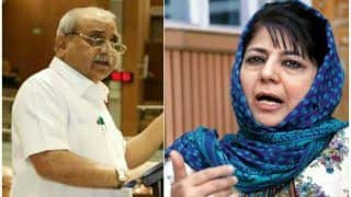 महबूबा मुफ्ती को भारत और उसके कानून पसंद नहीं तो परिवार के साथ पाकिस्तान चले जाना चाहिए : नितिन पटेल