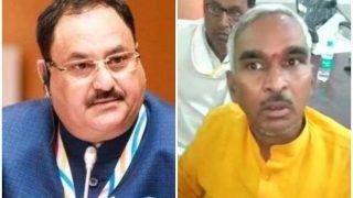 बलिया गोलीकांड: BJP विधायक से नाराज हुए पार्टी प्रमुख जेपी नड्डा, सुरेंद्र सिंह को दी यह नसीहत