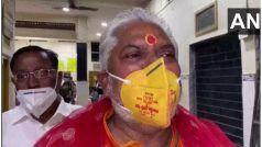 Bihar Polls: कमल प्रिंट वाला मास्क पहनकर मतदान करने पर घिरे मंत्री ने दी सफाई, चुनाव आयोग भी करेगा कार्रवाई