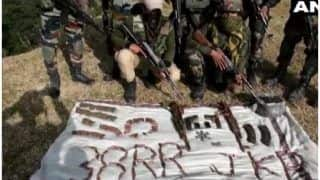 जम्मू-कश्मीर के राजौरी में आतंकी ठिकाने का भंडाफोड़, भारी मात्रा में हथियार-गोला बारूद बरामद