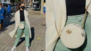 Parineeti Chopra Carries Rs 1 Lakh Gucci Bag While She Enjoys a Day Out on The Streets of Europe, SEE PICS