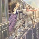 At 41, Prabhas Dangles Out of Train With Pooja Hegde in Motion Poster of Radhe Shyam