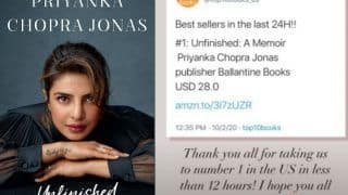 Priyanka Chopra Jonas' Unfinished is Already a Best Seller in The US, Actor Makes a Happy Post