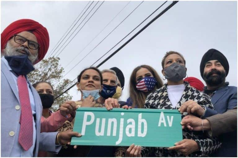 New York's Richmond Hill Stretch Co-Named 'Punjab Avenue' to Honour Community's Contribution