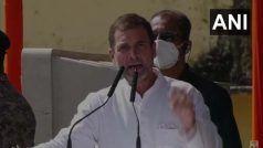 सर्वदलीय बैठक से पहले राहुल ने कहा- पीएम बताएंगे कि हर भारतीय को कब तक मिलेगा मुफ्त टीका