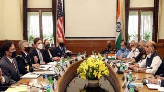 India-US 2+2 Dialogue: China on Cards, Rajnath, Jaishankar Seek to Bolster Bilateral Partnership