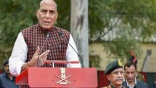 Pulwama Row: 'Disgusting Politics, Would Rather Sit at Home,' Rajnath Lashes Out at Oppn For Blaming Modi