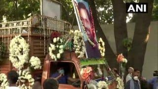 रामविलास पासवान का पार्थिव शरीर पहुंचा पटना, कल गंगा किनारे होगा अंतिम संस्कार