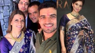 Rangoli Chandel Wears Kangana Ranaut's Saree at Brother Aksht's Pre-Wedding Function - Yay or Nay?