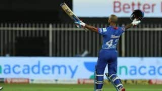 Shikhar Dhawan Creates History, Becomes First Batsman to Hit Two Straight IPL Centuries