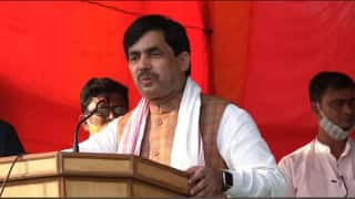 BJP leader Shahnawaz Hussain Tests Positive for Covid-19 After Attending Bihar Poll Rallies