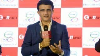 BCCI President Sourav Ganguly Reveals When Indian Domestic Cricket Season Will Start