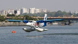 PM Modi to Launch Seaplane Service From Ahmedabad to Statue of Unity (Kevadia) Today in Major Push to India's Tourism