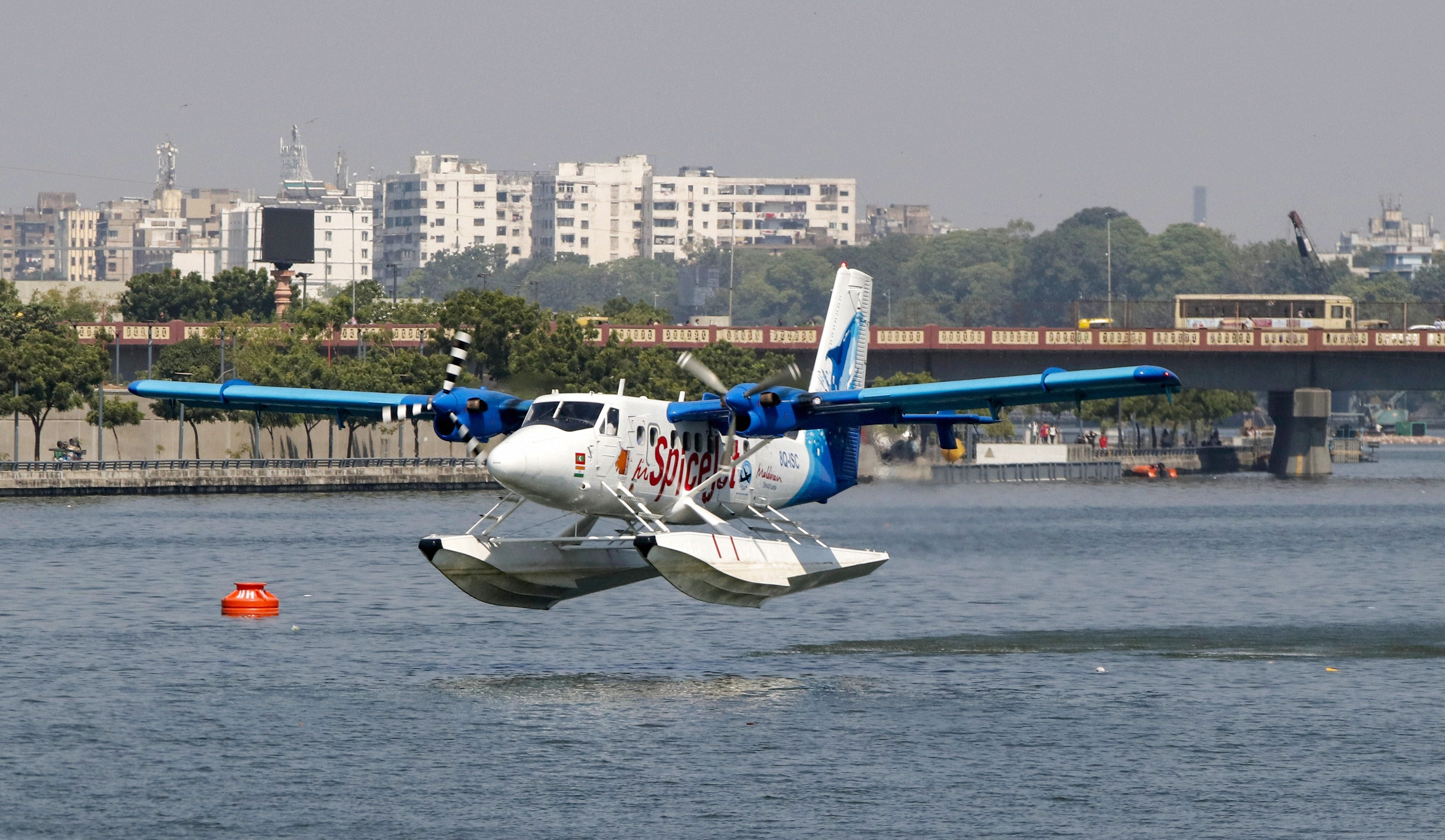 PM Modi to Launch Seaplane Service From Ahmedabad to Statue of Unity  (Kevadia) Today in Major Push to India
