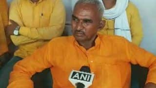 UP BJP Chief Showers Flower Petals on MLA Surendra Singh Who Backed Ballia Shooting, Video Goes Viral