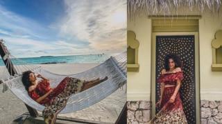 मालदीव में छुट्टी मनाने के बाद काम पर वापस लौटीं तापसी पन्नू, फोटो शेयर कर कहा- कोरोना रिपोर्ट...