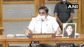 Will Provide Free Covid Vaccine To All Once it is Ready: Tamil Nadu CM