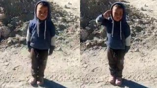 'Soldier in Making': Video of Young Boy Saluting ITBP Troops With 'High Josh' Wins Over Twitter | Watch
