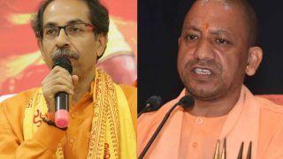 मुंबई पहुंचे UP CM योगी आदित्यनाथ, मचा बवाल, उद्धव ठाकरे ने दी धमकी, मनसे ने कहा-ठग आया है