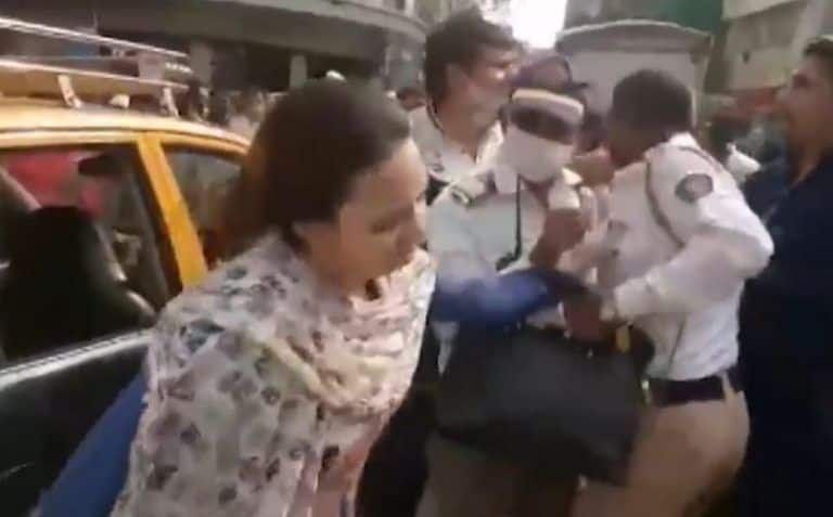 Mumbai Woman Arrested For Slapping Traffic Police Constable, Accuses Him Of Abusing Her