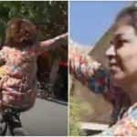 Iranian Woman Arrested For Cycling Without Hijab, Accused of Insulting Islamic Veil   Watch Viral Video