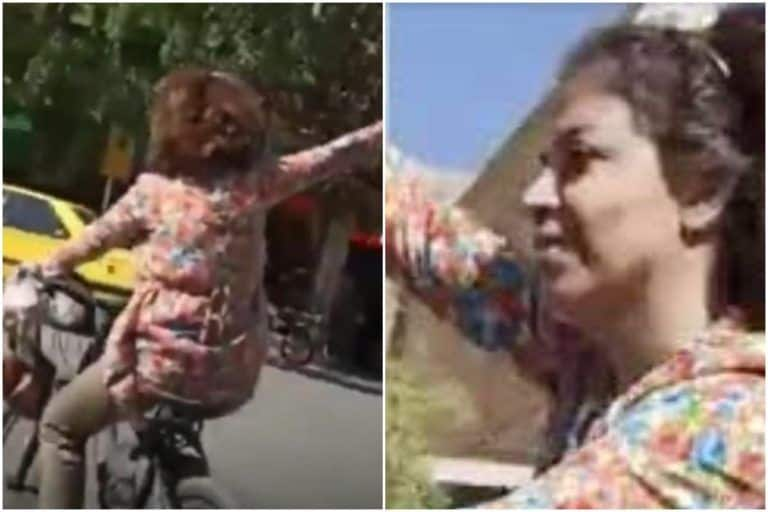 Iranian Woman Arrested For Cycling Without Hijab, Accused of Insulting Islamic Veil | Watch