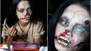 Spooky, Right? This Thailand Woman Dresses up as Zombie to Sell Clothes of Dead People Online