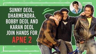 Sunny Deol, Dharmendra, Bobby Deol and Karan Deol Join Hands For Apne 2