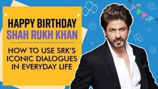 Happy Birthday Shah Rukh Khan: Legend's Iconic Dialogues You Can Use in Daily Life