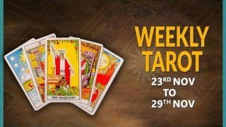 Weekly Tarot Reading by Munisha Khatwani: Here is What This Week Has For You | NOV 23 to Nov 29