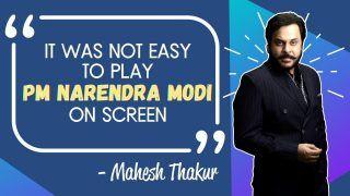 VIDEO: Mahesh Thakur on Playing Prime Minister Narendra Modi in 'CM to PM' Web Series