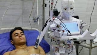 Robot That Can Test For Covid-19 Trialled in Egypt, It Will Also Warn People Not Wearing Masks